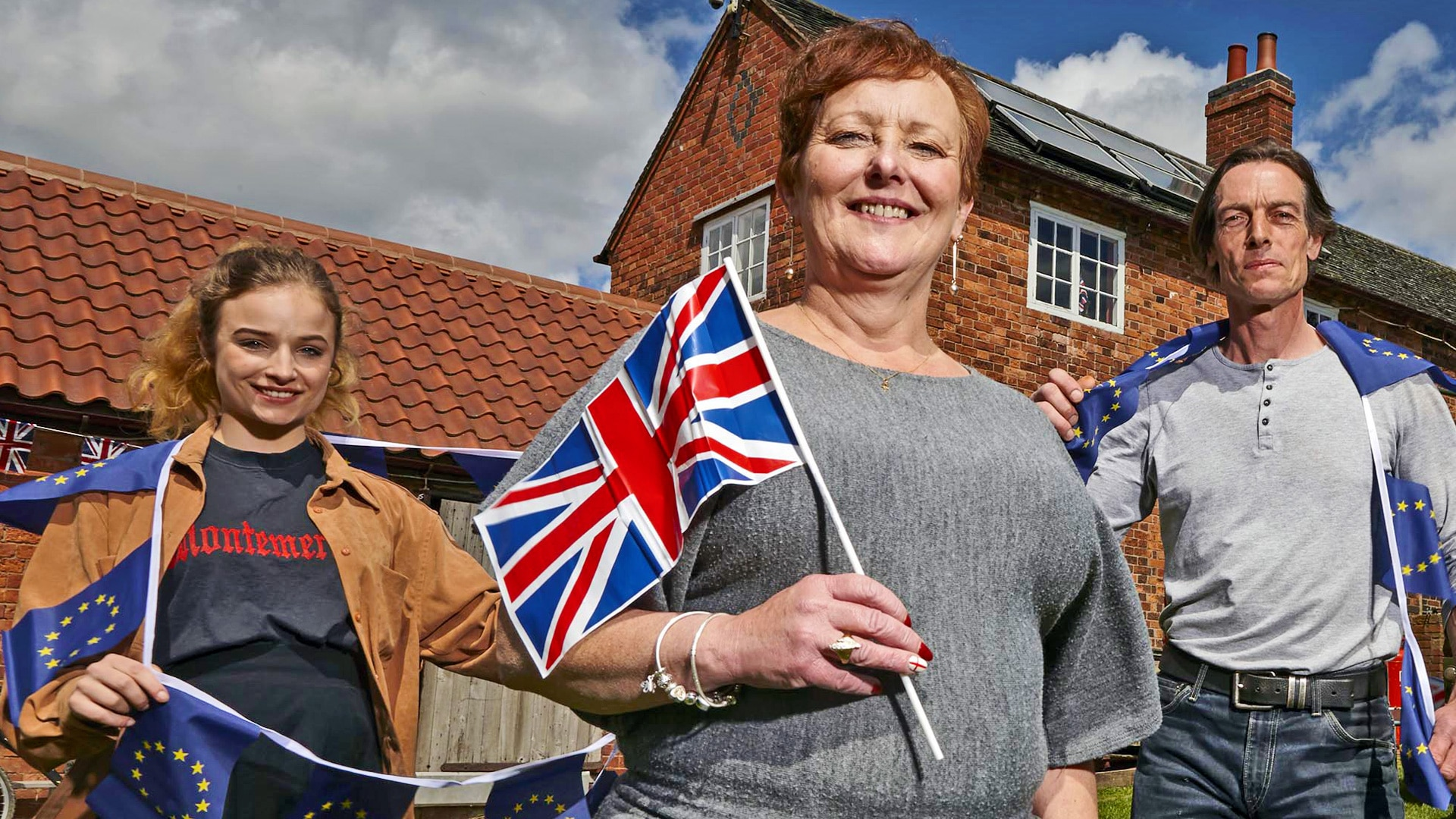 67f63a847ef Wife Swap: Brexit Special - On Demand - All 4