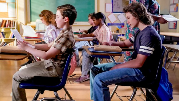 Young Sheldon - A Math Emergency And Perky Palms