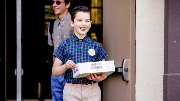 Young Sheldon - A Political Campaign And A Candy Land Cheater