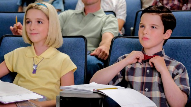 Young Sheldon - A Rival Prodigy And Sir Isaac Neutron